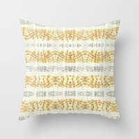BOHOCHIC MANDARINA DYE Throw Pillow