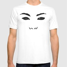 Stars in your Eyes SMALL Mens Fitted Tee White
