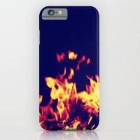 Blue Fire iPhone 6 Slim Case