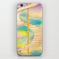 Fantasy Stairs Watercolor iPhone & iPod Skin