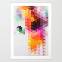 Rainfall 01 Art Print