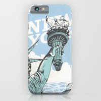 iPhone & iPod Case featuring New York by Terry Clarke