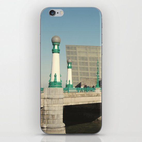 Kursaal Bridge iPhone & iPod Skin