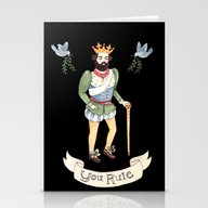 You Rule Stationery Cards