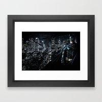 The Dark Knight Framed Art Print