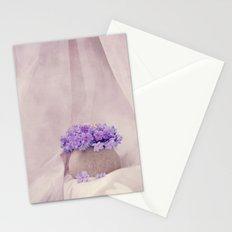 poeme de violet Stationery Cards