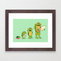 One Mutation With Extra … Framed Art Print