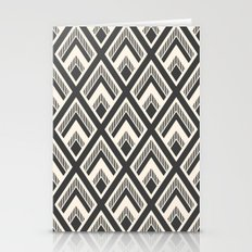 Diamond Pattern Light & Dark Stationery Cards