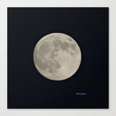 Another August Moon Canvas Print