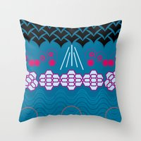 HARMONY Pattern Alt 1 Throw Pillow
