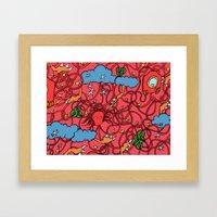 Fruits of Life Framed Art Print