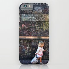 Taking my Chalk and Going Home iPhone 6s Slim Case