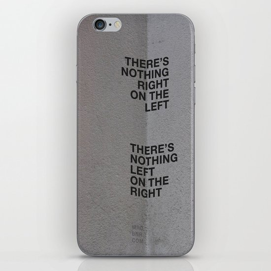 Left/Right iPhone & iPod Skin