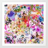 Party Girl 2 Art Print