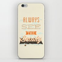 Always See The Beauty iPhone & iPod Skin