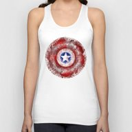 Avengers - Captain Ameri… Unisex Tank Top
