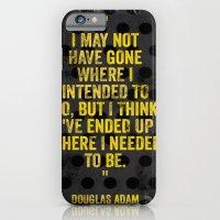 Intentions  iPhone 6 Slim Case