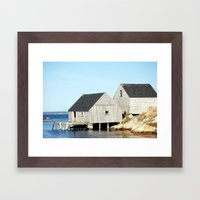 Old Shed Framed Art Print