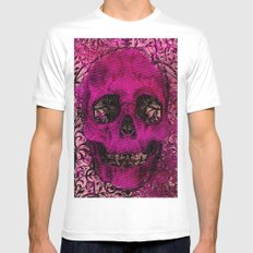 Skullicious Mens Fitted Tee White SMALL