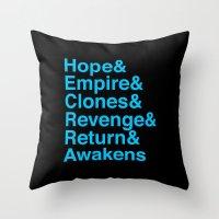 Machete Order Throw Pillow
