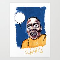 phife with the roughneck business Art Print