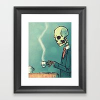 Calavera´s Tea Framed Art Print