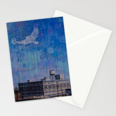 7th Street Sparrow Stationery Cards