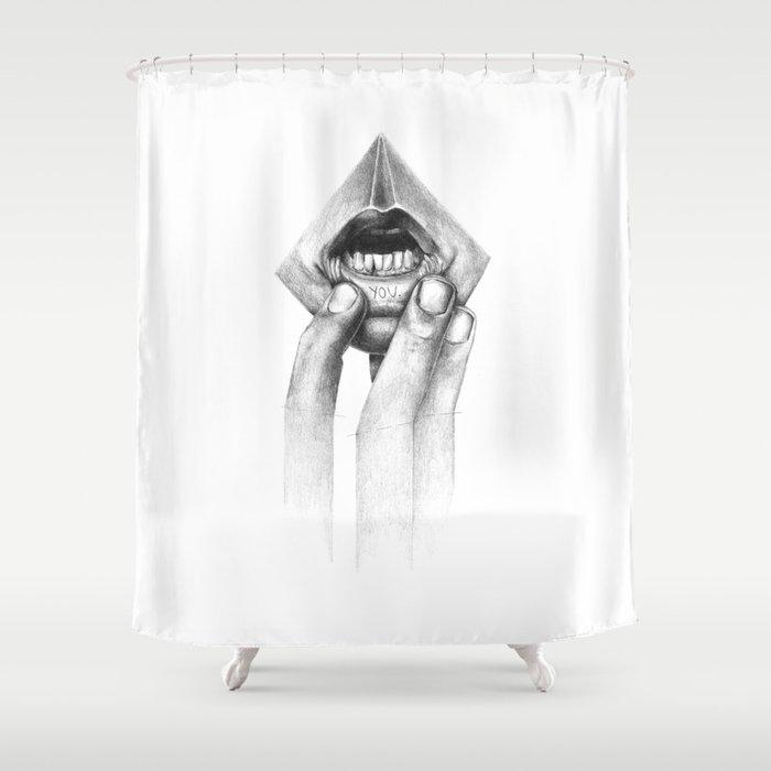 Little Secret Shower Curtain By David Cristobal Society6