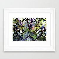 to benefit from even naturally ocurring phenomena; Framed Art Print