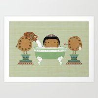 Cleopatra Was A Cookie Art Print