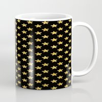 Chic Glam Gold And Black… Mug