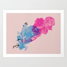 Nerd /// Fight Art Print