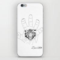 Wild hands iPhone & iPod Skin