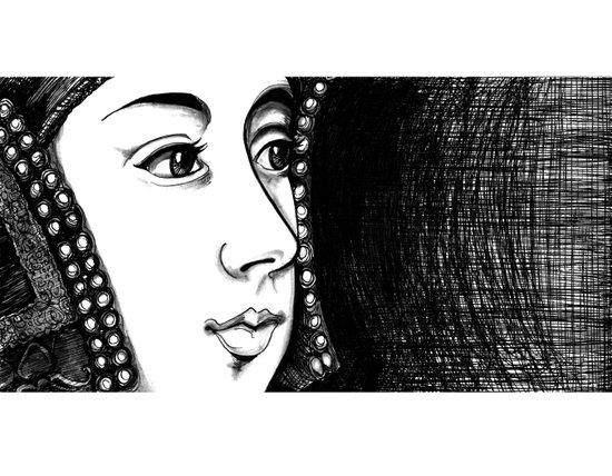 Queen Anne Boleyn Portrait  Art Print