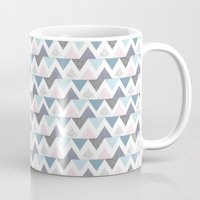 Tri Colour Two Mug