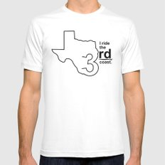 TX 3rd Coast SMALL White Mens Fitted Tee
