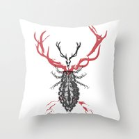 Hannibal's Totem Throw Pillow