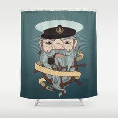 Sea wolf Shower Curtain