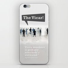 The Vicar iPhone & iPod Skin