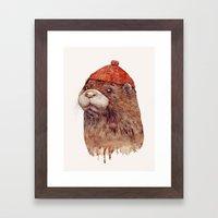River Otter Framed Art Print