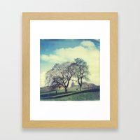 Calton Hill Framed Art Print