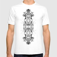 ppdd Mens Fitted Tee White SMALL