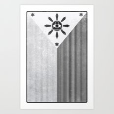 Happy Independence Day Art Print