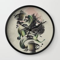 Fish Tale Wall Clock