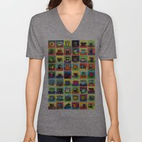 The Daily Coffee Poster Unisex V-Neck