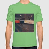 ap. of/64 Mens Fitted Tee Grass SMALL