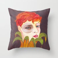 RETRATO 120314 Throw Pillow