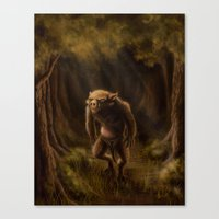 Pequenino & The Father T… Canvas Print