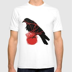 Transatlanticism SMALL Mens Fitted Tee White