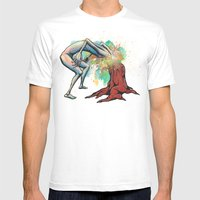 Ingrown Mens Fitted Tee White SMALL